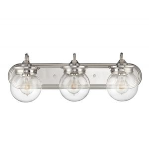 Savoy House Downing 3-Light Vanity Bar in Polished Nickel