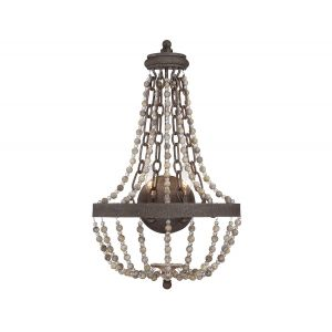 Savoy House Mallory 2-Light Wall Sconce in Fossil Stone