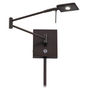 George Kovacs LED Swing Arm Wall Lamp in Copper