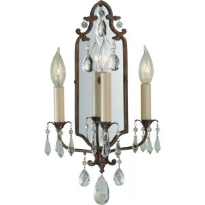 Feiss Maison de Ville Collection Wall Sconce in Bronze Finish