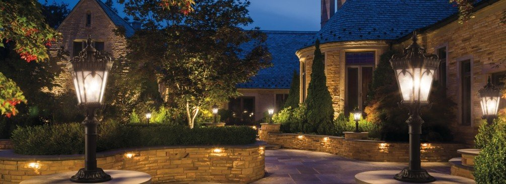How to plan your outdoor lighting lightsonline aloadofball Choice Image