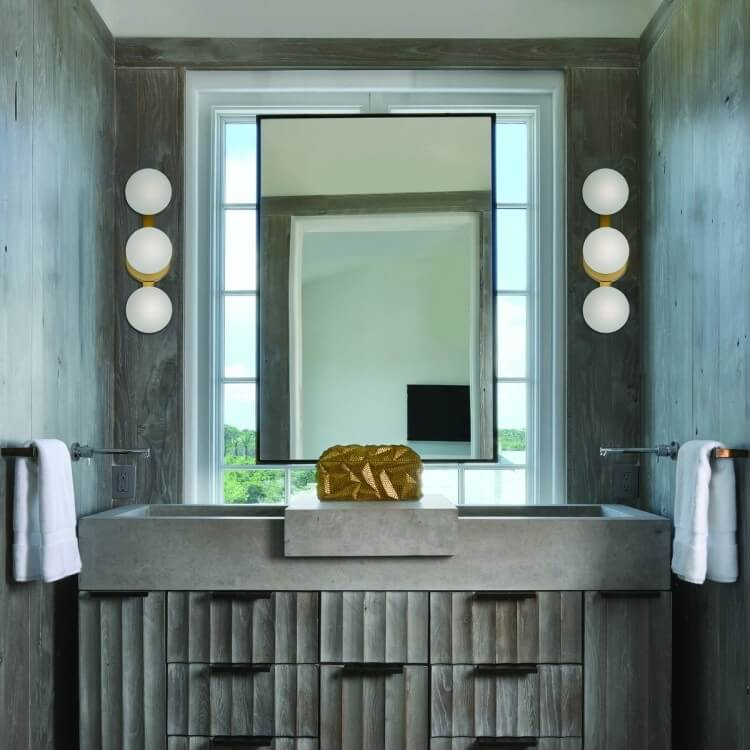 The Right Way to Use Bathroom Sconces