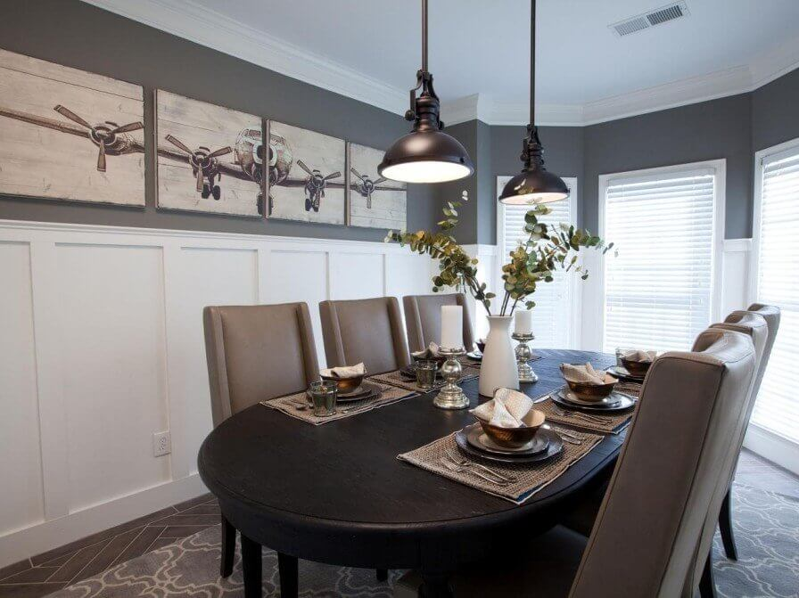 Luca And Annes Dining Room From Property Brothers