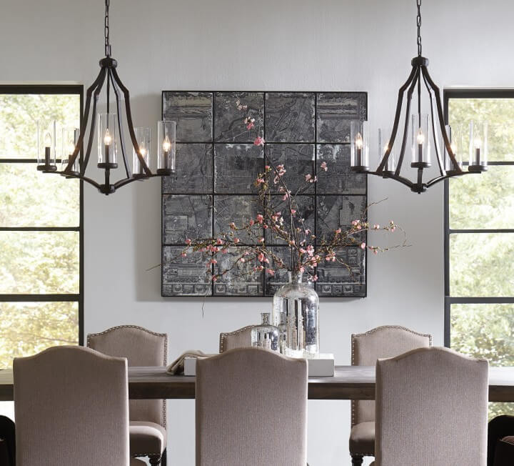 How chandeliers set the tone in your dining room transitional chandeliers set the tone in your dining room lightsonline blog aloadofball Choice Image