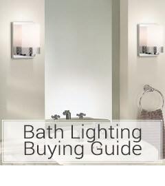 Read the Bath Lighting Buying Guide at LightsOnline.com