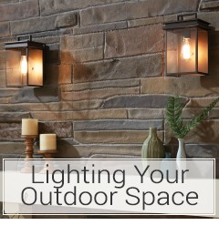 Learn how to light your outdoor space at LightsOnline.com